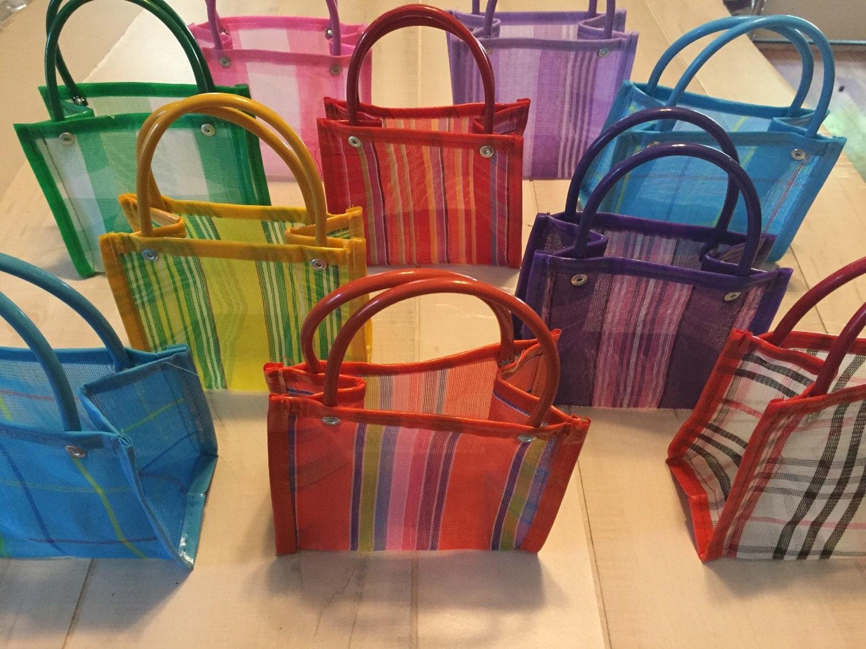 10 mini mexican mercado bag party favor gift bags 002. Black Bedroom Furniture Sets. Home Design Ideas