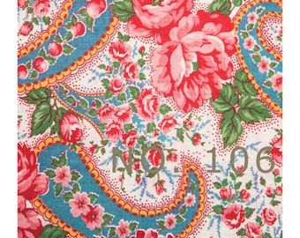 Wallpaper and fabric FLORALS for gift wrapping, ACEOs, scrapbooking, gift bags