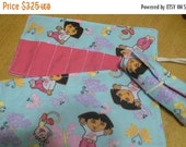 Spring sale sale sale Crayon Roll Cozy Holder Dora Other Styles Available