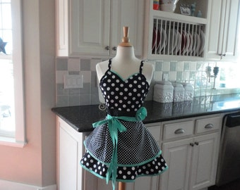 "Classic Cook   ~ ""Sadie Style"" Women's Apron ~ 4RetroSisters"