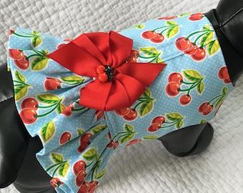 Ruffled Dog Harness Vest Custom Made