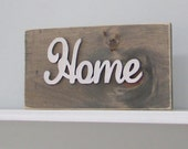 Wood Signs, Home, Livingroom, Mantle, Rustic, Home Decor, Wall Decor, Reclaimed Wood, Farmhouse, Barn, Woodwork