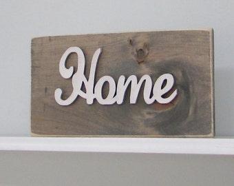 Wood Signs, Home, Livingroom, Mantle, Rustic, Home Decor, Wall Decor, Reclaimed Wood, Farmhouse, Barn, Woodwork