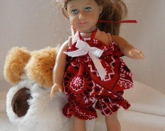 Pajamas play suit  Middie Blythe, Mini American Girl, Lati Yellow n more 2 pc