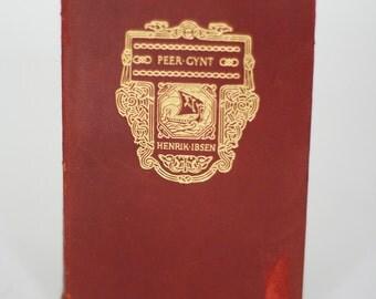 vintage peer gynt volume 4 by henrik ibsen 1916