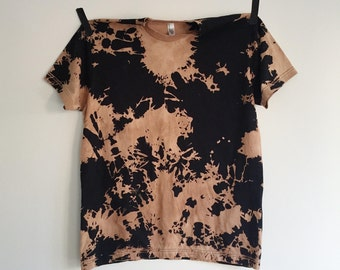 Black and Brown Lava Tee