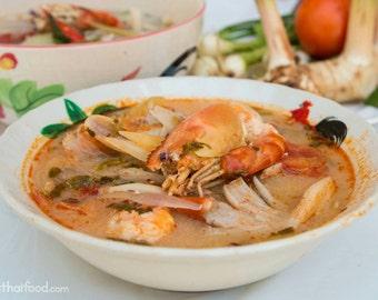 FOUR pkgs Tom Yum Soup Ingredients