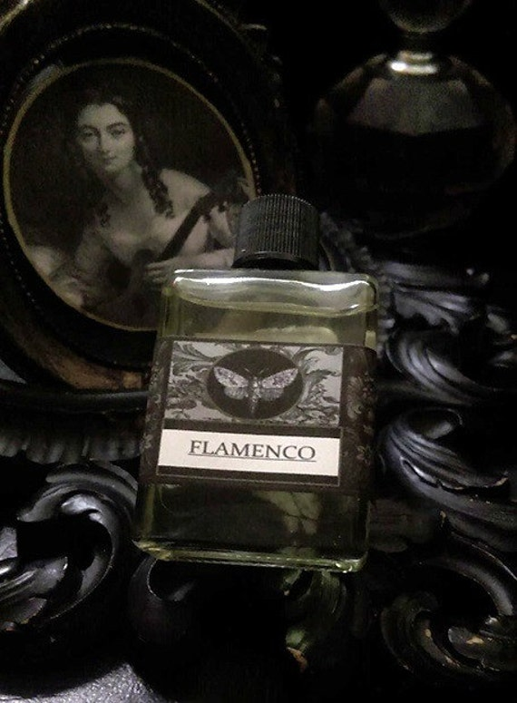 Flamenco Gypsy Alchemy Natural  Perfume Oil  1/2 oz Jasmine, Rose Sandalwood Vanilla ,Sweet Orange, Benzoin