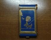 "Vintage 1930's/1940's  ""Kamra"" Compact/Lipstick Holder/Cigarette Case w/Scottie Dog"