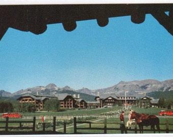 Glacier Park Lodge Glacier National Park Montana postcard