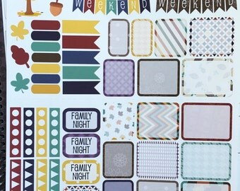 November Planning Kit ~ Made to fit the Mormon Mom/Mom on the Go Planners