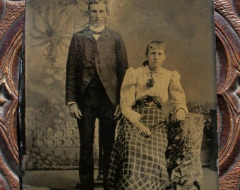 Tintype To Love & to Cherish Couple