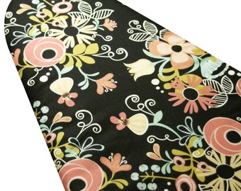 Ironing Board Cover custom sizes including brabantia, more ELASTIC around edges Hello Gorgeous black floral pick your size