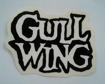 intage Gullwing Skateboard Sticker GULLWING Truck Co.
