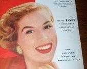 1952 McCall's Magazine Vintage Woman's Magazine 1950s Advertising, Fiction, Art Illustrations, Recipes, Food Ads, Househole Ads, Housewares