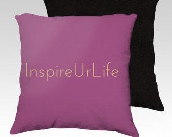 InspireUrLife Pillow Cover