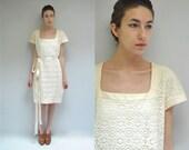 Minimalist Wedding Dress  //  Ivory Lace Dress //  THE MINIMALIST