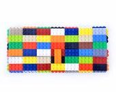 Multicolor clutch purse made with LEGO® bricks FREE SHIPPING purse handbag legobag trending fashion