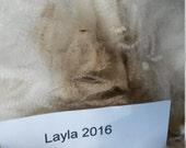 Purebred Cormo Fleece (Layla's 2016)