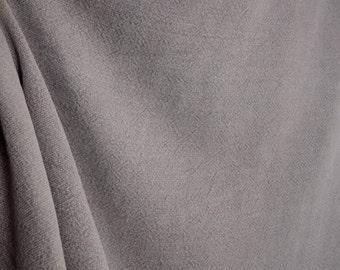 Wrangler Ash Linen Solid Kaufman Fabric
