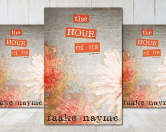 """Premade eBook Cover Design """"The Hour of Us"""" Literary Fiction Romance Love Young New Adult YA"""