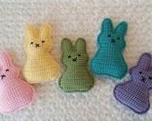 Peep Bunny crochet pattern SALE