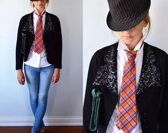 Vintage Necktie, Terry Queen, 1970s Necktie, 1970s Tie, Vintage Tie, Neckties