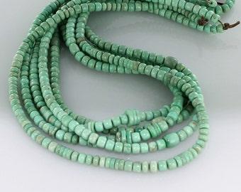 Variscite Beads Mixed Shape 5 to 8mm New World Gems