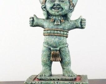 Mexican Art Vintage Statue Totonaca Deity
