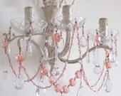 RESERVED FOR ROBI Shabby chic sconce  three lights authentic Italian vintage repurposed wall lamp