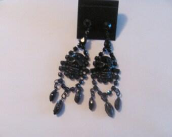 Black Pirate Earrings