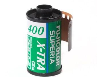 Fuji Superia X-tra 35mm 24 frames color film expired in 2002