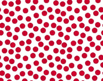 Modern Mixers II from Studio E - Full or Half Yard Red and White Dot