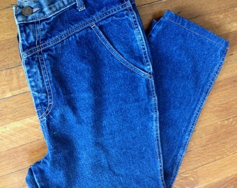 Vintage 1980's Calvin Klein high waisted jeans Size 8/10
