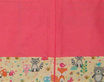 Custom Crib Skirt - your choice of fabric - Three or four sided with pleat