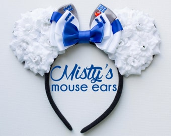 Inspired R2D2 Rose Mouse Ears