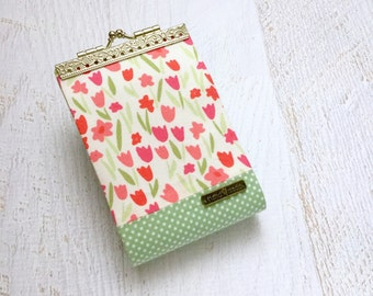 Tulip Business Card Holder, Credit Card Holder, Credit Card Wallet, Credit Card Organizer, Card Case