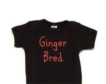 Ginger Bred Baby Bodysuit Creeper onesie