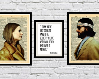 Margot Tenenbaum and Richie The Royal Tenenbaums Dictionary Art Prints
