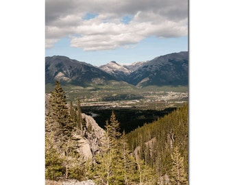 Canmore Landscape Photography, Canadian Rocky Mountains Home Decor, Banff National Park, Living Room Wall Decor, Breathtaking Nature Art