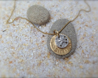 Sand Dollar Serenity Necklace