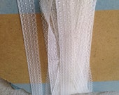 Antique White Lace. Vintage Lace Trim, 4.5 m Vintage Wedding / Furnishings / Ballet Dolls & Bears / Last in stock!