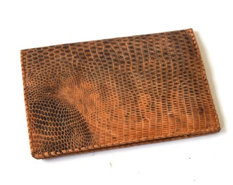 Vintage Alligator Bifold Wallet c.1970s