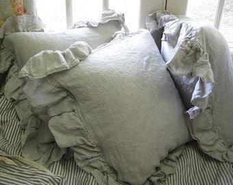 linen bedding king | etsy