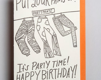Birthday- Party pants