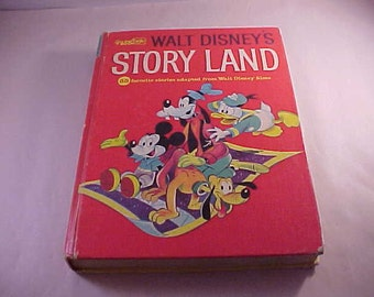 1962 Golden Book Disney's Story Land Book Illustrated