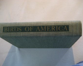 1936 Birds of America book with 106 color plates