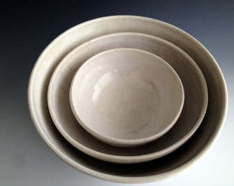 Wedding registry for Stephanie Brown/Jim Dematteo (stacking bowls)