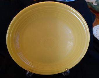 Vintage 50s Yellow Fiesta Ware Plate
