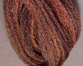 Valdani, 6 Strand Cotton Floss, P12, Brown